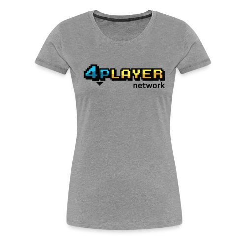 4PlayerNetwork Logo - Women's Premium T-Shirt