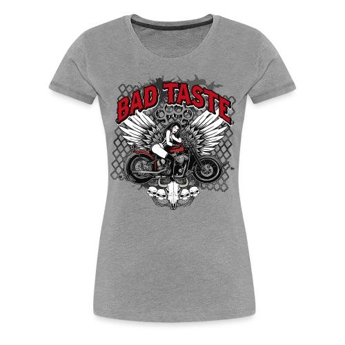 Biker Chick - Women's Premium T-Shirt