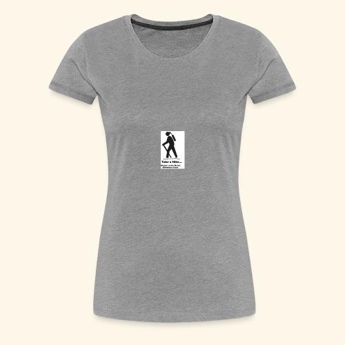 Womyn of the Woods Hiker Girl - Women's Premium T-Shirt