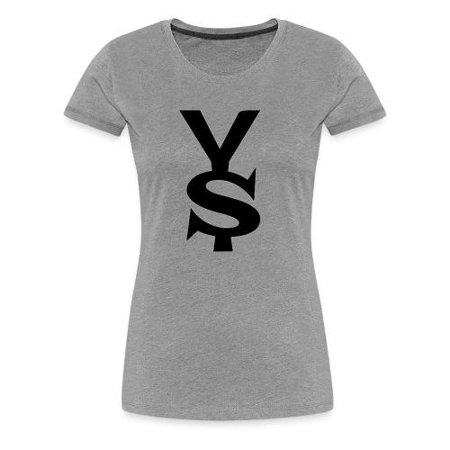 Black Yong Soul Logo - Women's Premium T-Shirt