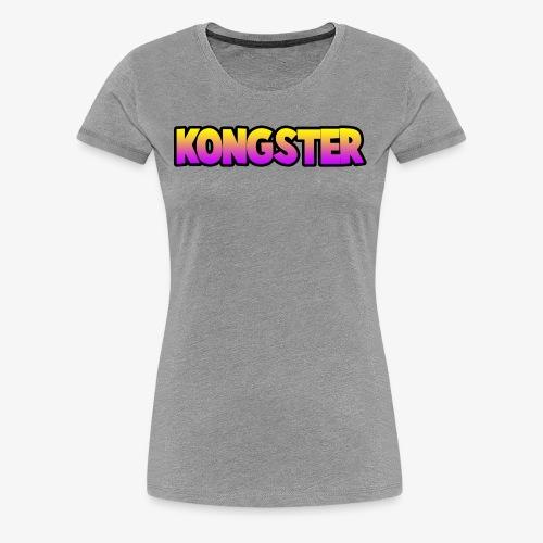 Kongster - Women's Premium T-Shirt