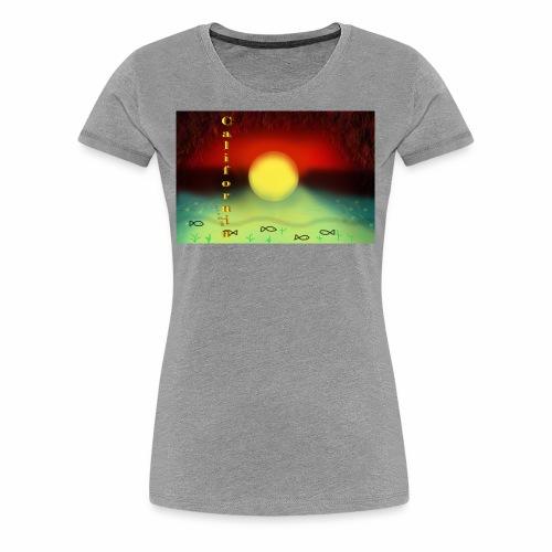 Sunset By Sea, California Product - Women's Premium T-Shirt