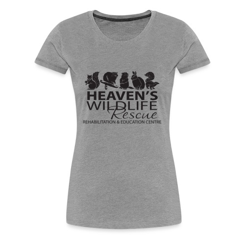 Heaven's Wildlife Rescue - Women's Premium T-Shirt