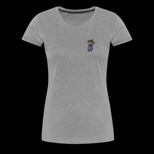 Falling Roses - Women's Premium T-Shirt