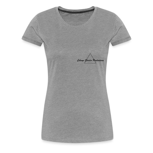 Colwyn Strider Productions Black - Women's Premium T-Shirt
