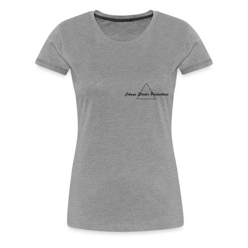 Colwyn Strider Productions Black - Women's Premium T-Shirt