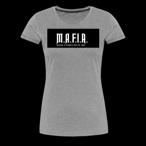 Classic Mafia Logo Black - Women's Premium T-Shirt