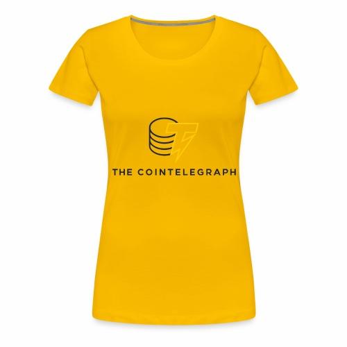 cointelegraph branding - Women's Premium T-Shirt
