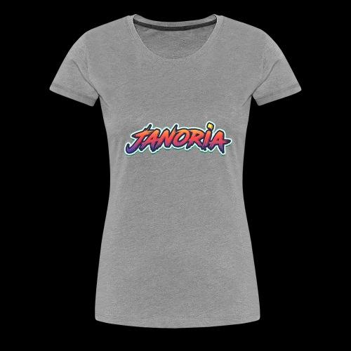 Janoria's Name - Women's Premium T-Shirt