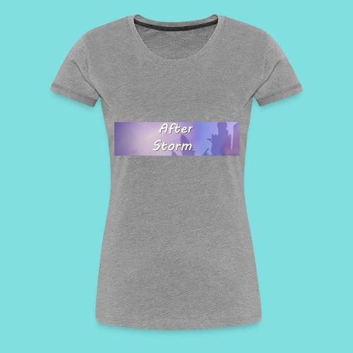 After Storm LOGO 2 - Women's Premium T-Shirt