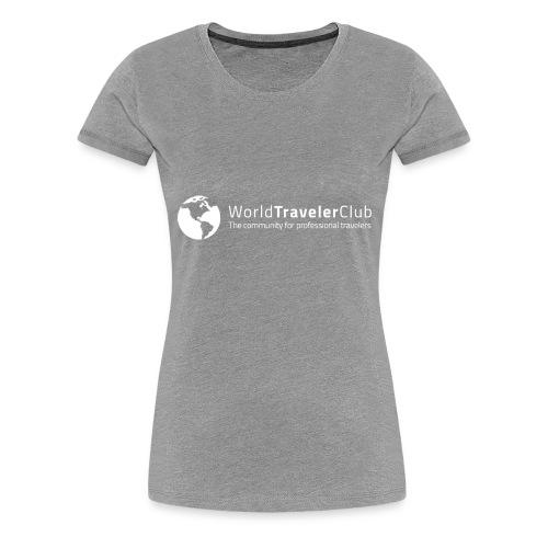 wtc logo - Women's Premium T-Shirt