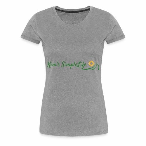 Kim's SimpleLife Tee - Women's Premium T-Shirt