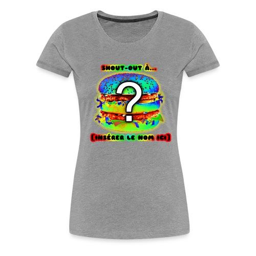 The Flashy - Women's Premium T-Shirt