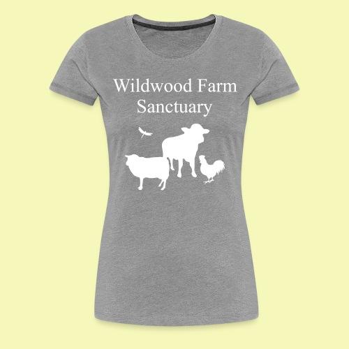 White Cow - Women's Premium T-Shirt