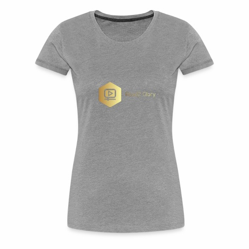 Golden Road2 Glory Badge - Women's Premium T-Shirt