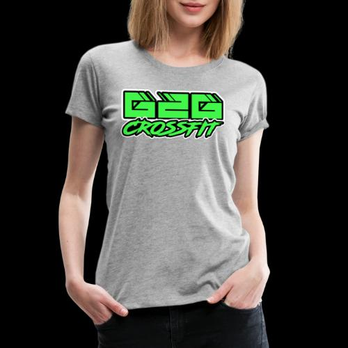 Electrifying Green Half G2G Logo - Women's Premium T-Shirt