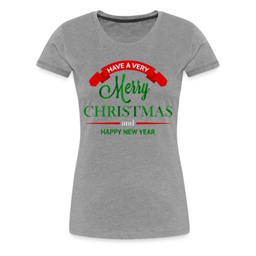 Have a Merry Christmas Decoration PNG Clipart 28 - Women's Premium T-Shirt