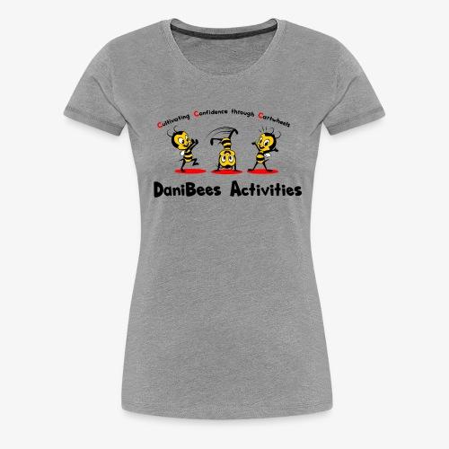DaniBees Cartwheel Red - Women's Premium T-Shirt