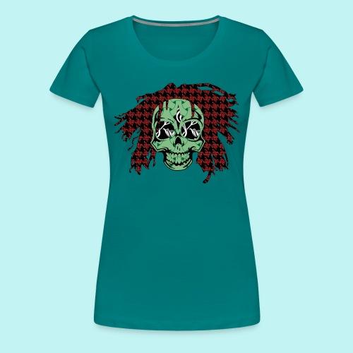 BOB MARLEY SKULLY - Women's Premium T-Shirt