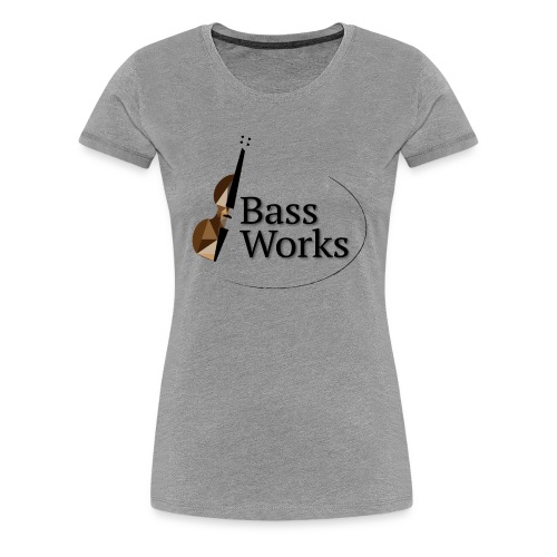 Bass Works Color Logo - Women's Premium T-Shirt