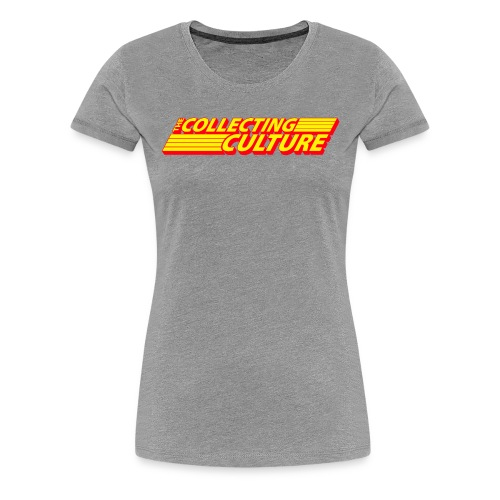 The Collecting Culture - Women's Premium T-Shirt