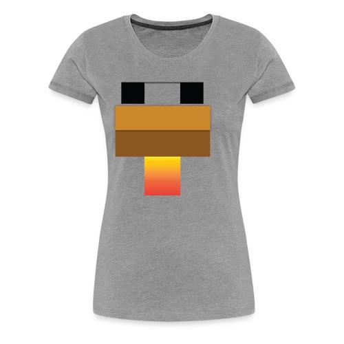 chicken Head - Women's Premium T-Shirt