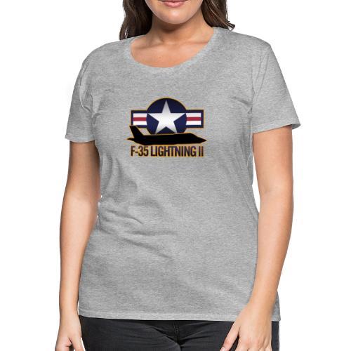 F-35 Lightning II - Women's Premium T-Shirt