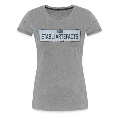 Francais - Women's Premium T-Shirt