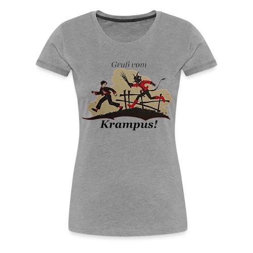 Gruss vom Krampus! - Women's Premium T-Shirt