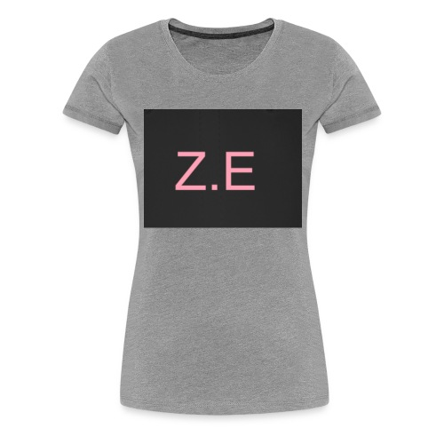 Zac Evans merch - Women's Premium T-Shirt