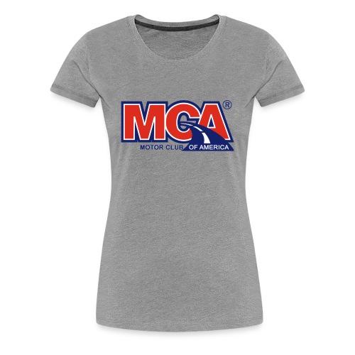 MCA_Logo_WBG_Transparent - Women's Premium T-Shirt