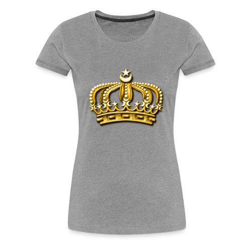 Gold crown - Women's Premium T-Shirt