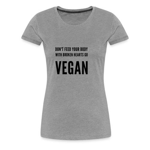 Vegan Shirt - Women's Premium T-Shirt