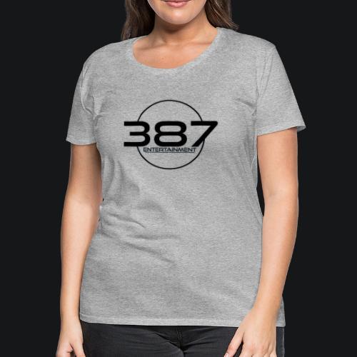 387 Entertainment Black - Women's Premium T-Shirt