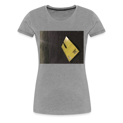 The Beginning is Never the End - Women's Premium T-Shirt