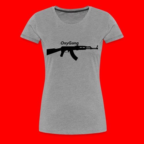 OxyGang: AK-47 Products - Women's Premium T-Shirt