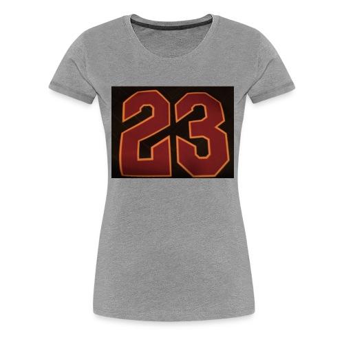 23 - Women's Premium T-Shirt