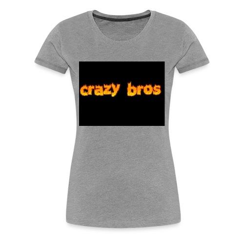 Crazy Bros logo - Women's Premium T-Shirt