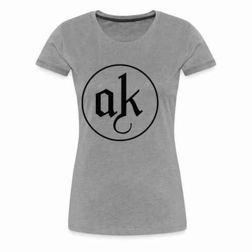 AK LOGO Black - Women's Premium T-Shirt