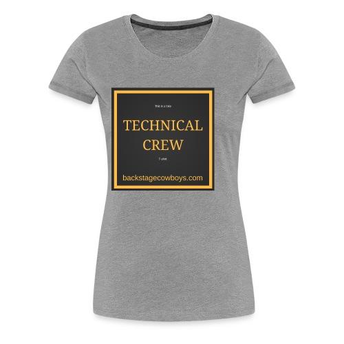 FAKE TECHNICAL CREW - Women's Premium T-Shirt
