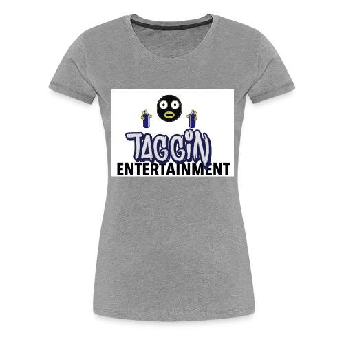 Taggin - Women's Premium T-Shirt