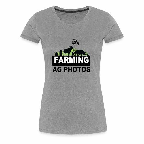 Farming Ag Photos - Women's Premium T-Shirt