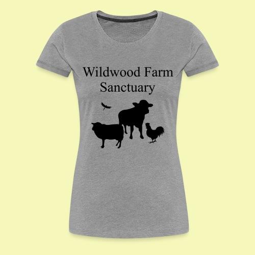 Black Cow - Women's Premium T-Shirt