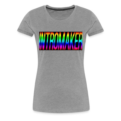 intromaker T SHIRT - Women's Premium T-Shirt