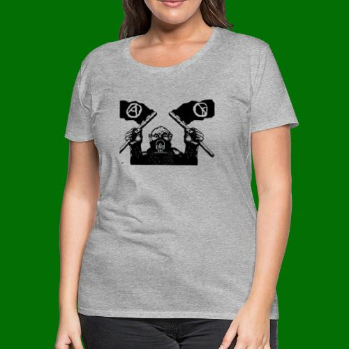 anarchy and peace - Women's Premium T-Shirt