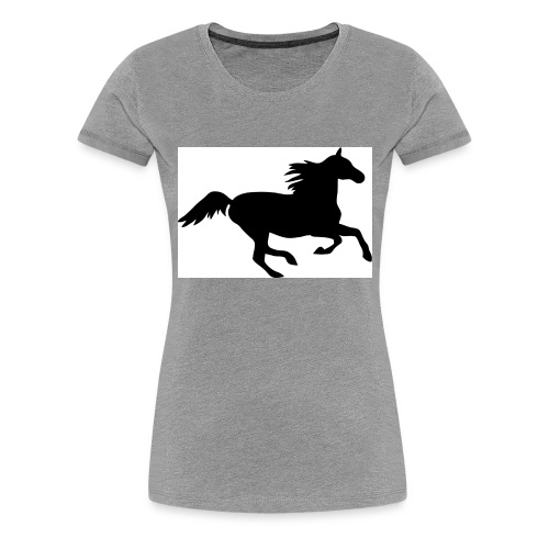 horse drink bottle - Women's Premium T-Shirt