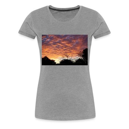 Sunset and light - Women's Premium T-Shirt