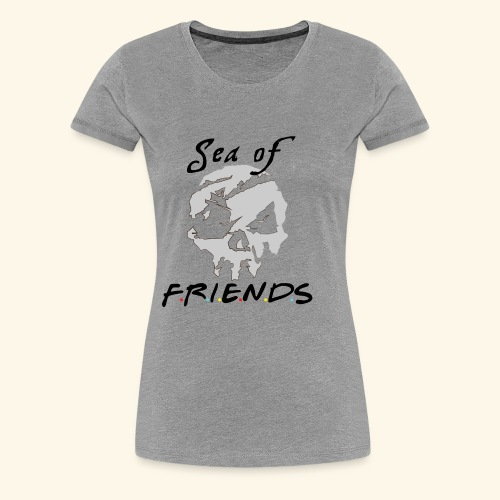 Sea of Friends - Women's Premium T-Shirt
