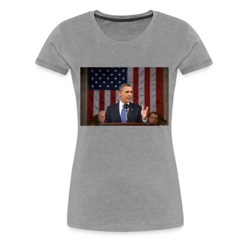 Barack - Women's Premium T-Shirt
