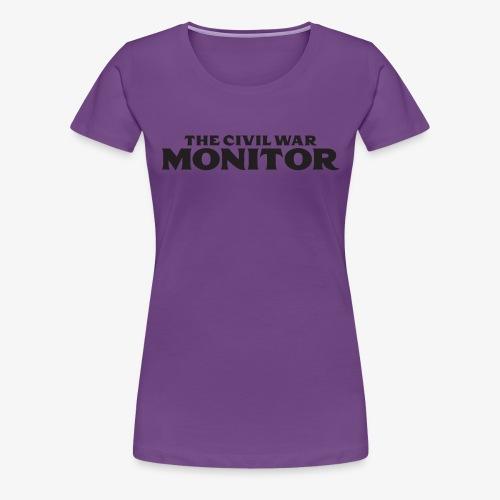 CWM LOGO BLACK - Women's Premium T-Shirt